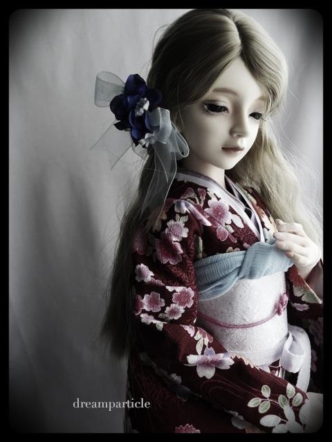 Hane wearing kimono