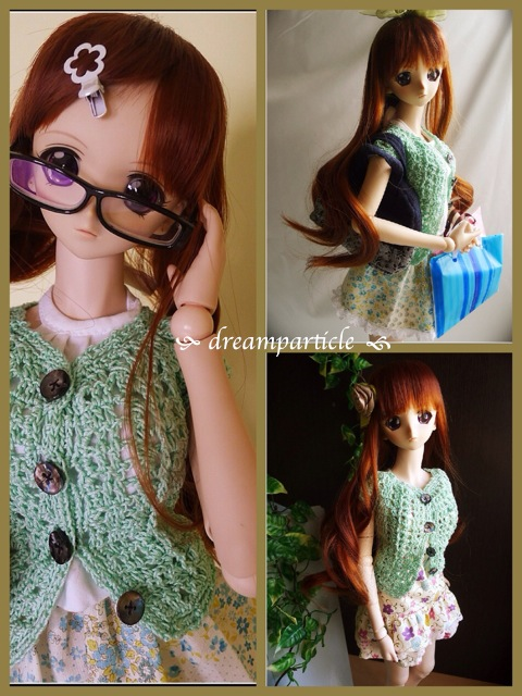 crochet blouses for dd and sd by dreamparticle