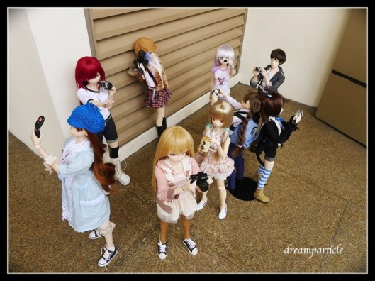 kagura at doll outing