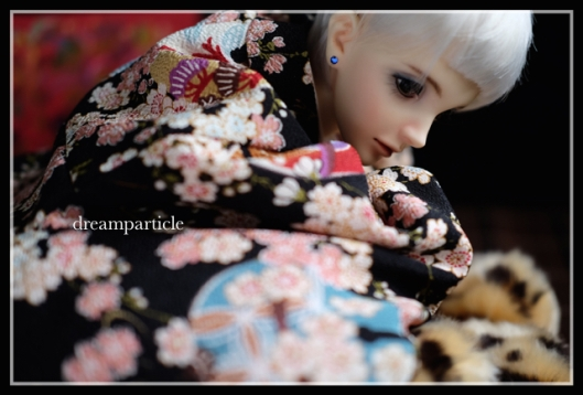 shun in kimono from kyoto